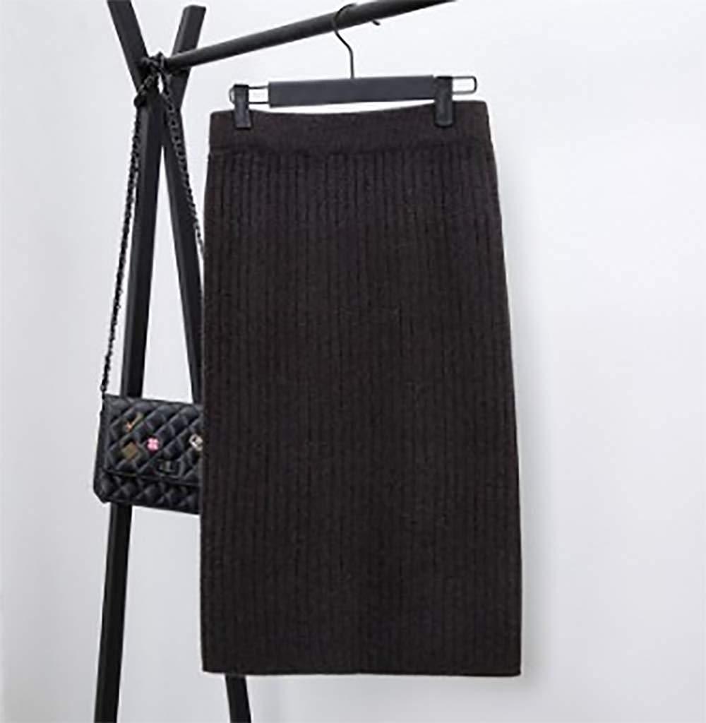 授業参観コーデにリブニットタイトスカート